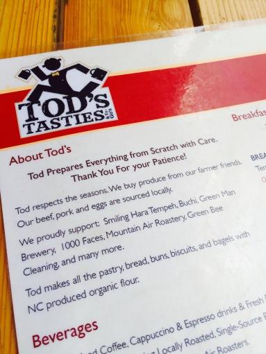 Tod's Tasties Asheville