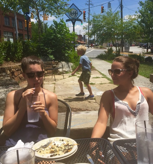 Outdoor Seating West Asheville Lunch