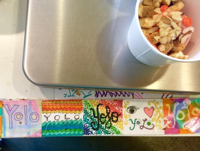 frozen yogurt yolo