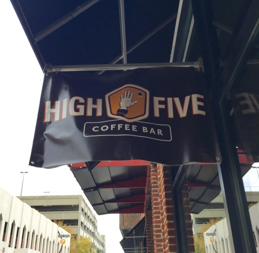 high five coffee bar avl